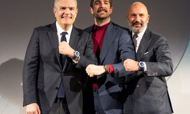 Die Hublot Classic Fusion Garage Italia und die drei Herren von der Tankstelle