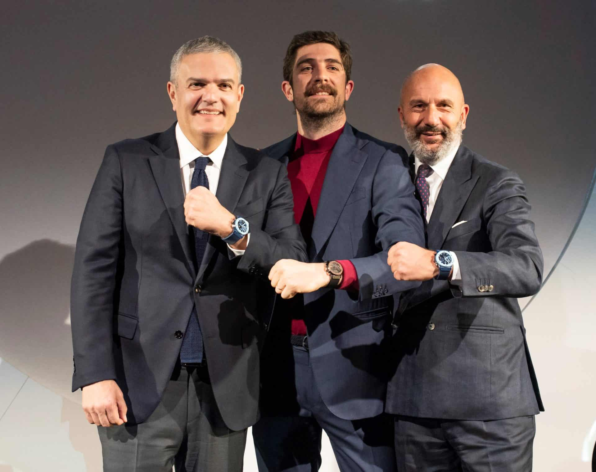 Die Garage Italia Führung mit dem Partner Hublot - und der neuen Garage Italia Classic Fusion