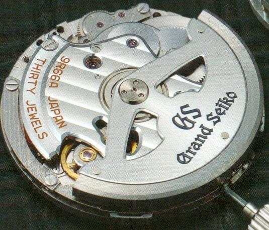 Ein Grand Seiko Automatikkaliber liefert ausreichend Energie für den Betrieb des Spring Drive Uhrwerks