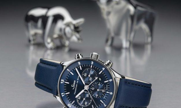 3 Sinn Frankfurter Finanzplatz Uhren:  Chronograph, Weltzeit und  Mondphase