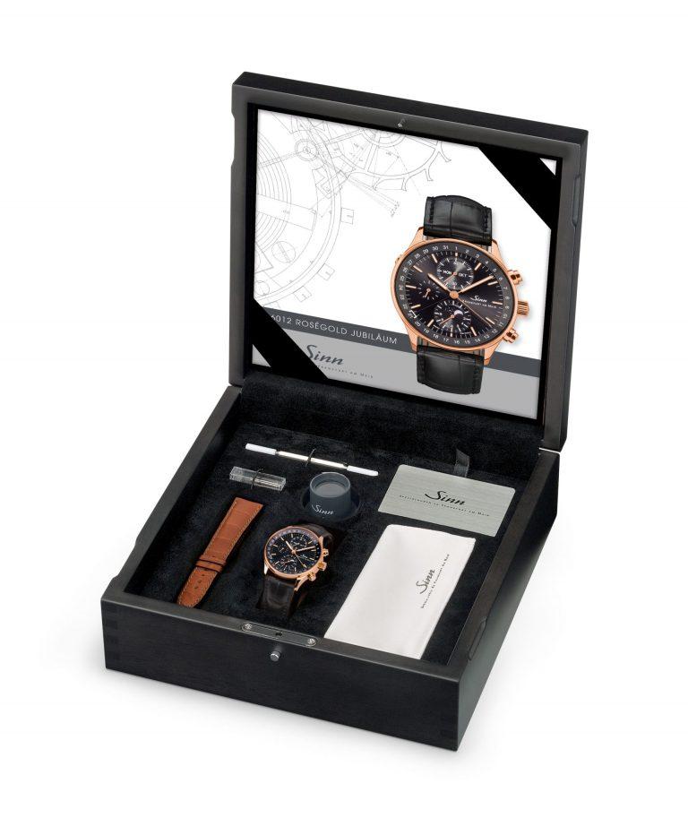 Die Gold-Edition der Sinn Finanzplatz Chronographen-Uhr ist auf 50 Ex. limitiert.
