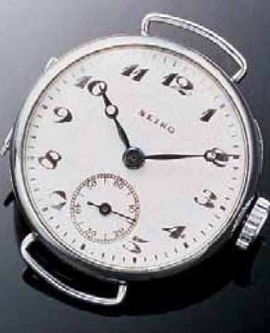 Im Jahr 1924 wurde von Seiko der Namenszug erstmals auf einer Uhr Armbanduhr verwendet
