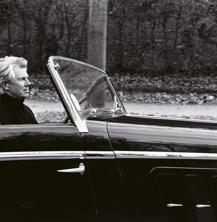 Ein alte Aufnahme des Designer Jacques Helleu