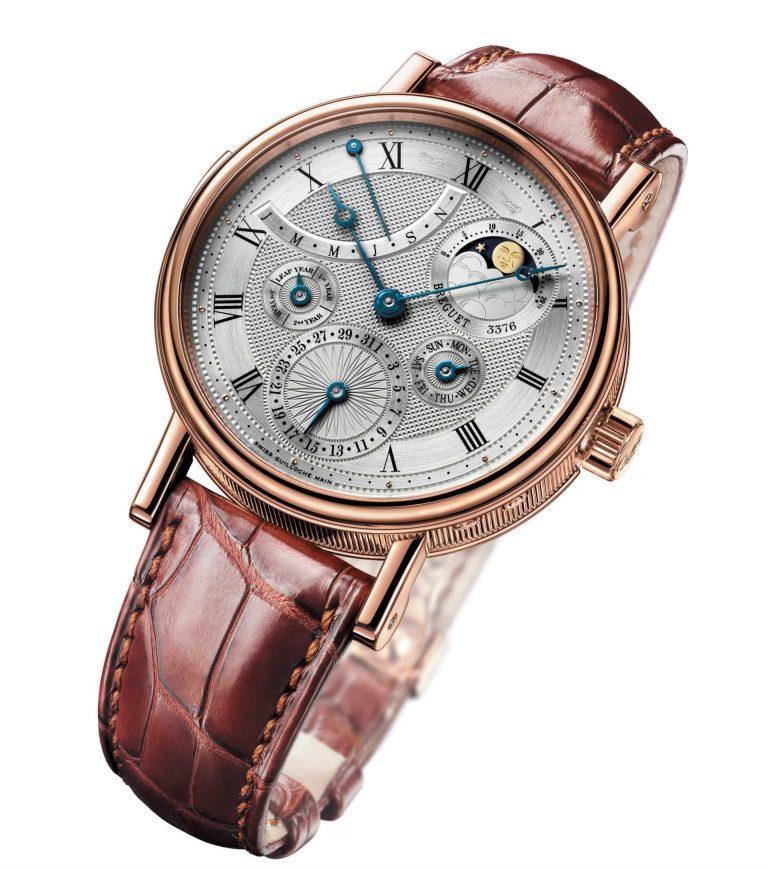 Die Breguet Grandes Complications Ewiger Kalender mit Mondphase Ref. 5327 ist Uhrmacherei in Perfektion