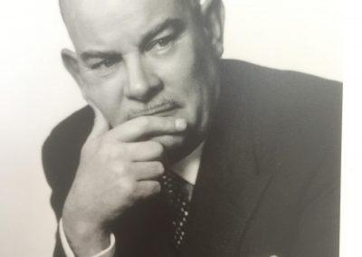 Willy Breitling der Firmeninhaber und Lenker
