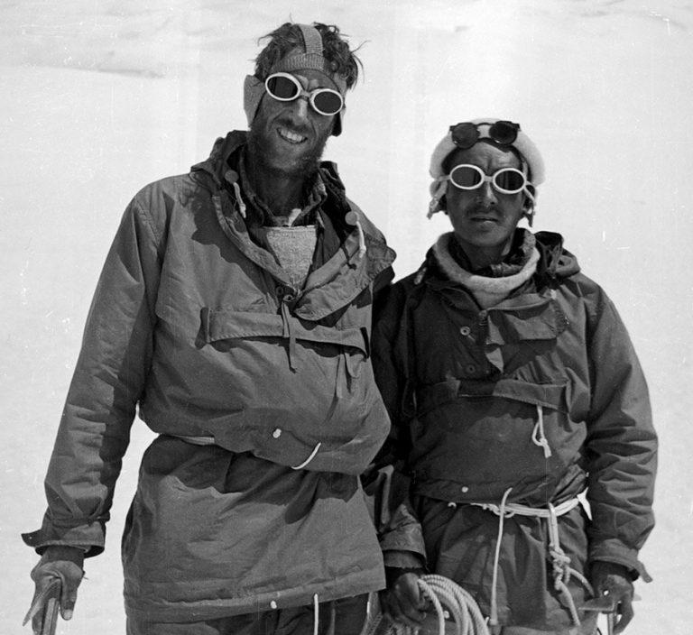 Edmund Hillary und Tenzing Norgay Erstbesteiger Mount Everest