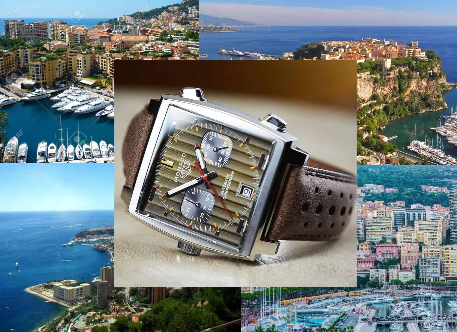 """TAG Heuer Monaco Jubiläumsmodell """"Monaco 1969-1979""""Der TAG Heuer Monaco Chronograph hat eine spannende Geschichte"""