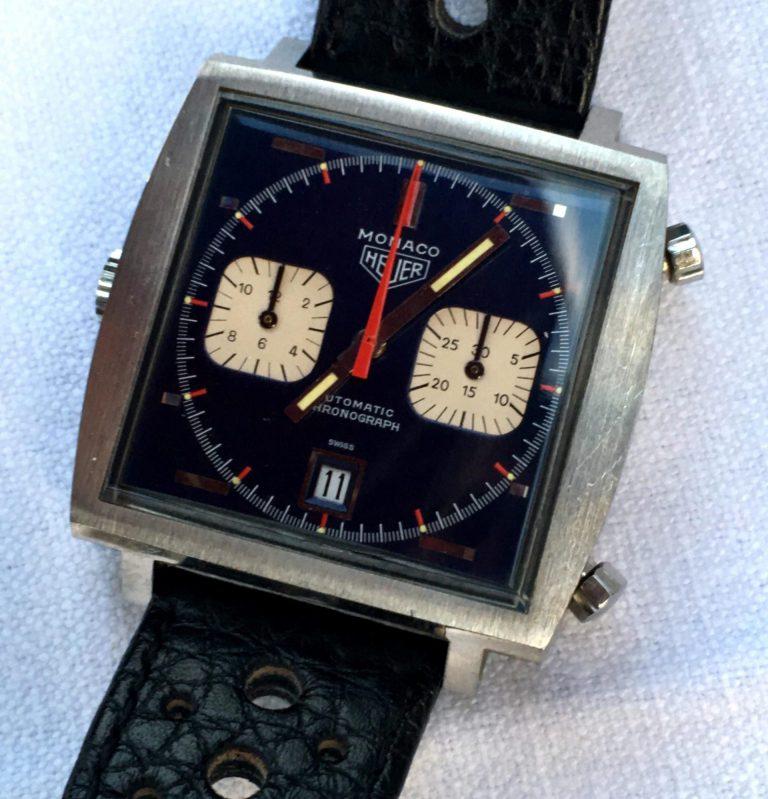 Der Original Chronograph Monaco von TAG Heuer aus dem Jahr 1969