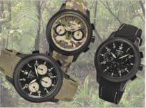 3 Wempe Zeitmeister Chronographen wollen nicht auffallen und glänzen doch durch Härte