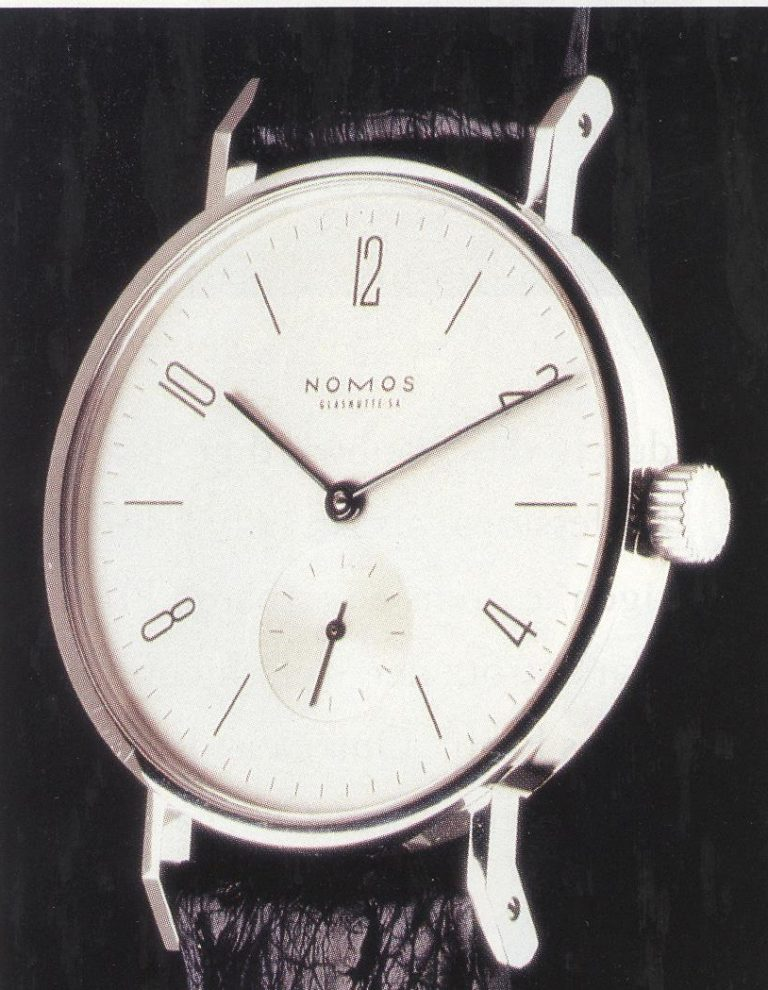 Das Original - die Nomos Tangente des Jahres 1992