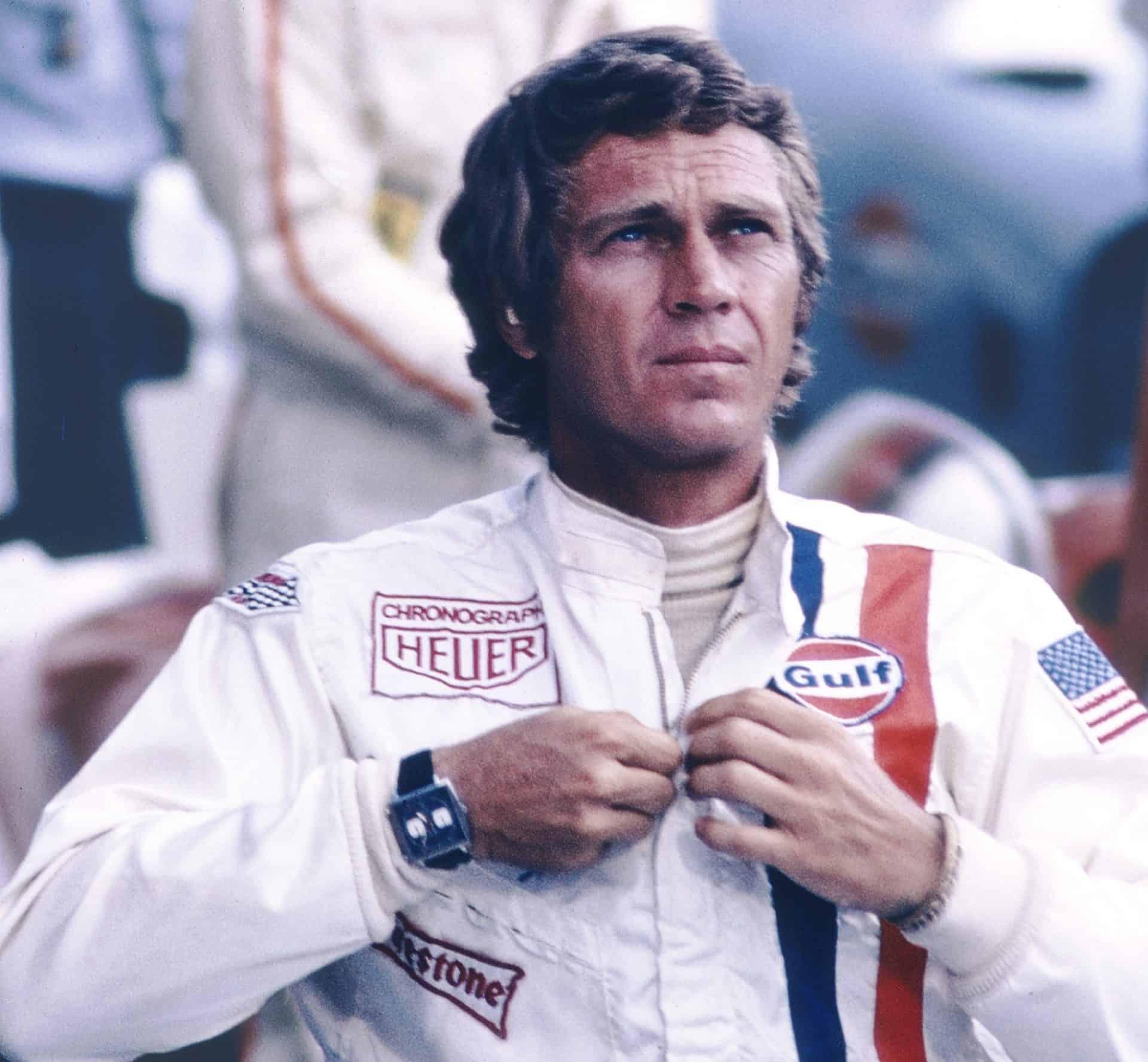 Steve McQueen und TAG Heuer MonacoWie die TAG Heuer Monaco ans Handgelenk von Steve McQueen fand