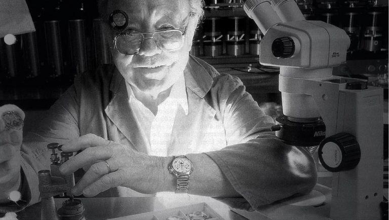 """Für ihn war die Rettung des El Primero Chronographen eine Frage von elementarer uhrmacherischer Bedeutung: Der Uhrmacher Charles """"Charly"""" Vermot"""