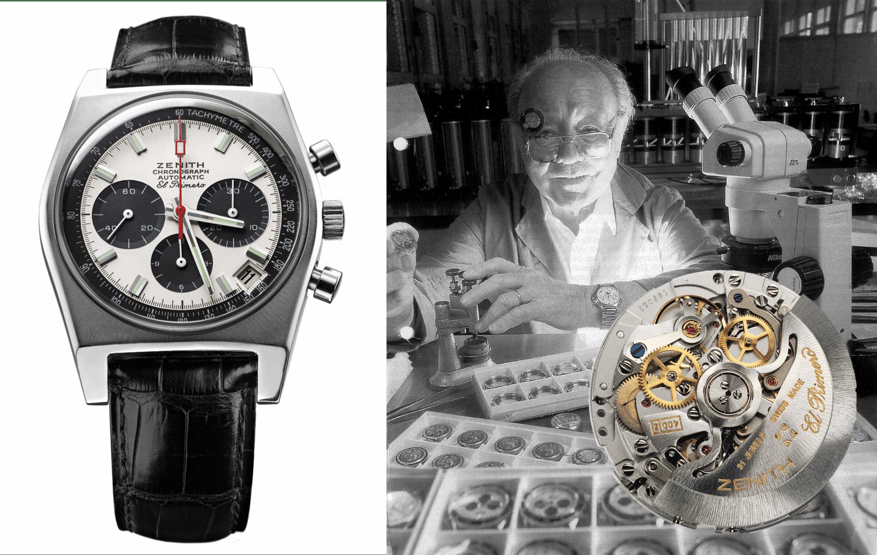 Geschichte des Zenith Uhrenklassikers Zenith El Primero und der unbeugsame Uhrmacher