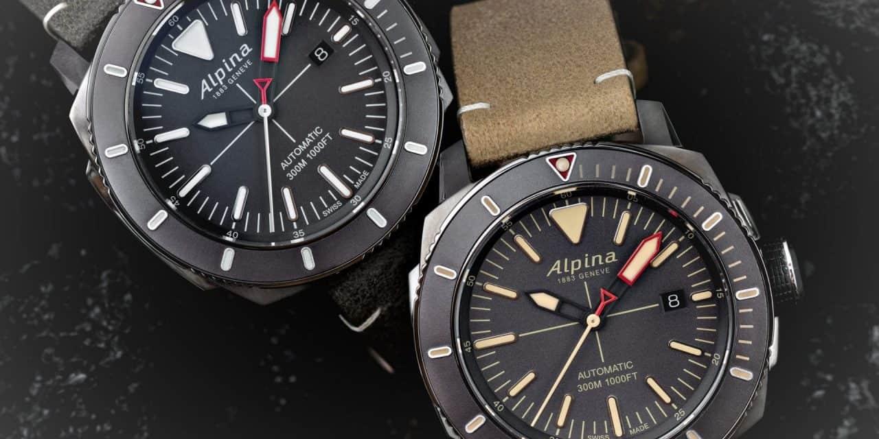 Alpina Seastrong Diver – eine Taucheruhr aus Tradition