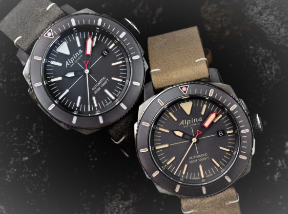 Alpina Seastrong Diver – eine Taucheruhr aus Tradition