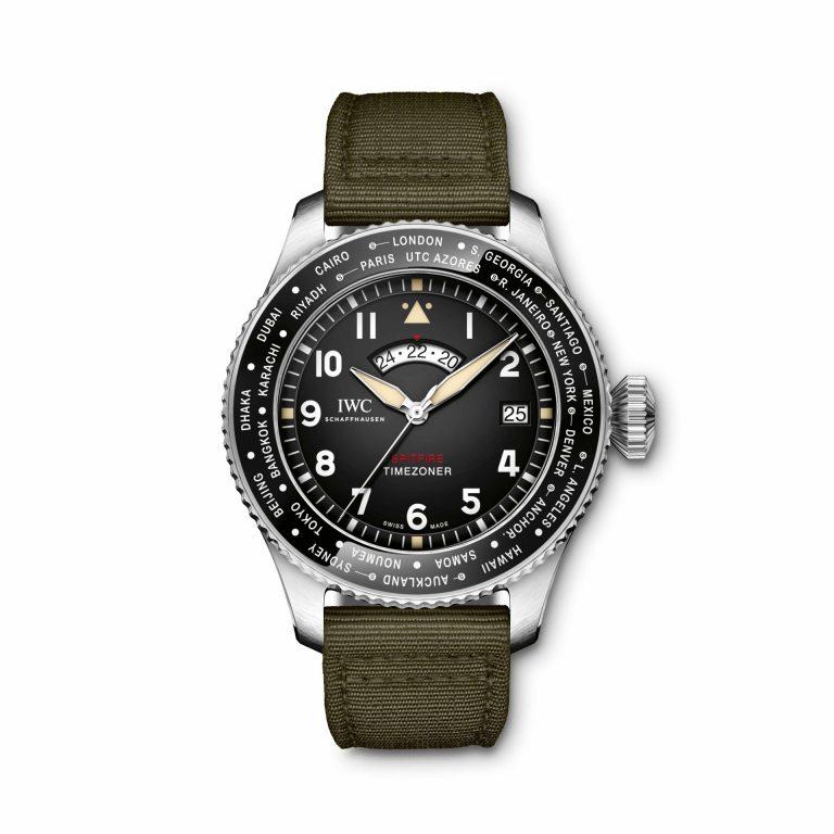 Die IWC Pilot's Watch Timezoner Spitfire Edition The Longest Flight mit klassischer 24 Monats-Garantie