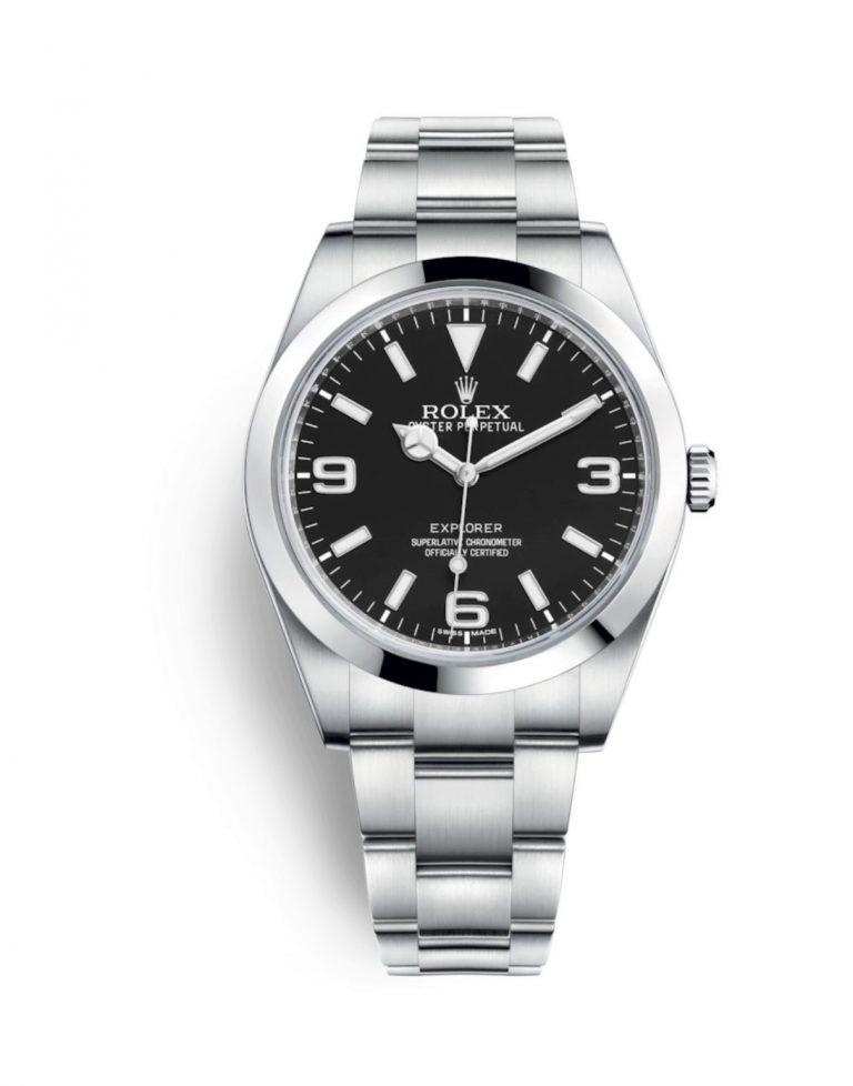 Die Gewährleistung von Rolex für neue Uhrenmodelle wie dieses Rolex Explorer beträgt 5 Jahre