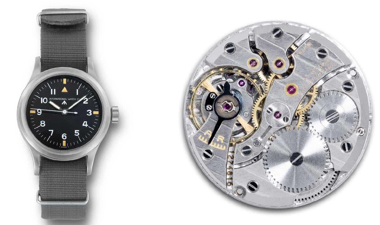 Eine IWC Mark 11 aus dem Jahr 1948 und ihr Uhrwerk