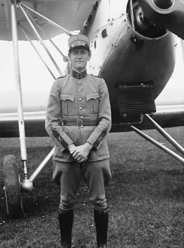 Rudolf Homberger Pilot bei der Swiss Air Force auf Me-109