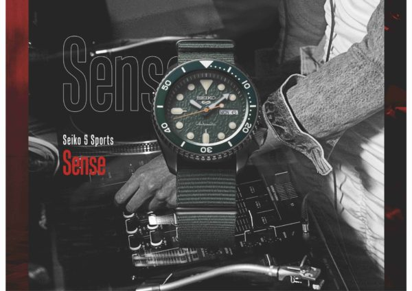 Seiko 5 Sports Sense, SRPD77