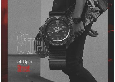 Das Street Modell der Seiko 5 Sports
