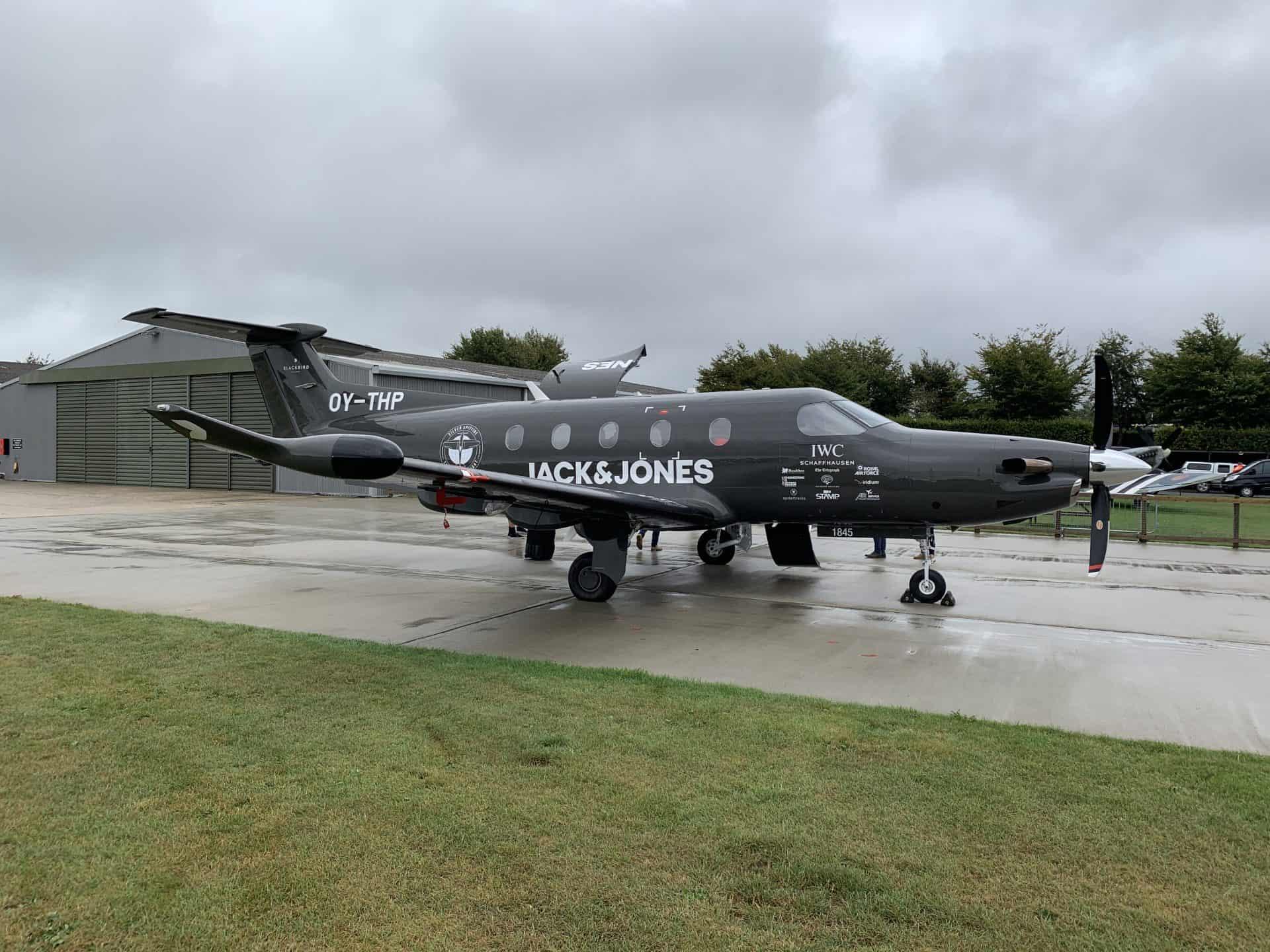 Spitfire Begleitflugzeug