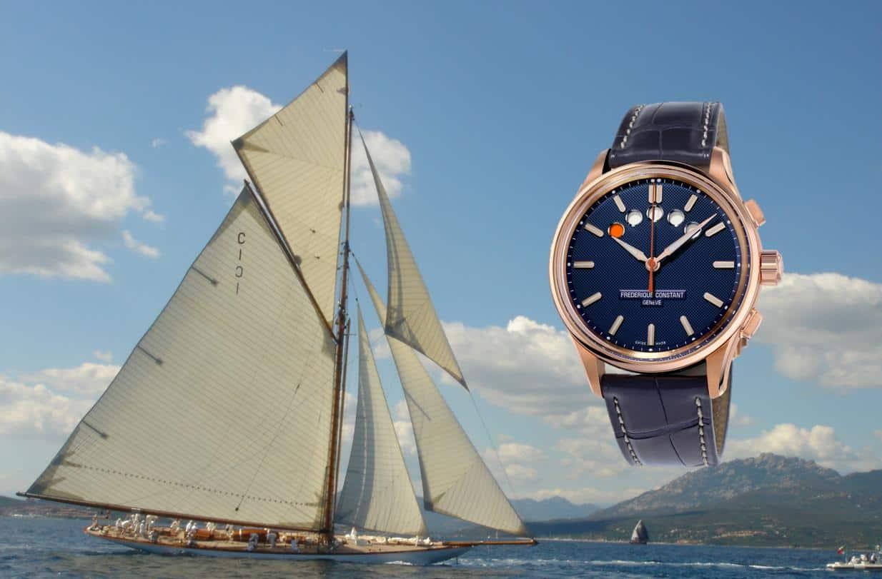 Frederique Constant Yacht Timer Regatta Countdown 2019 2