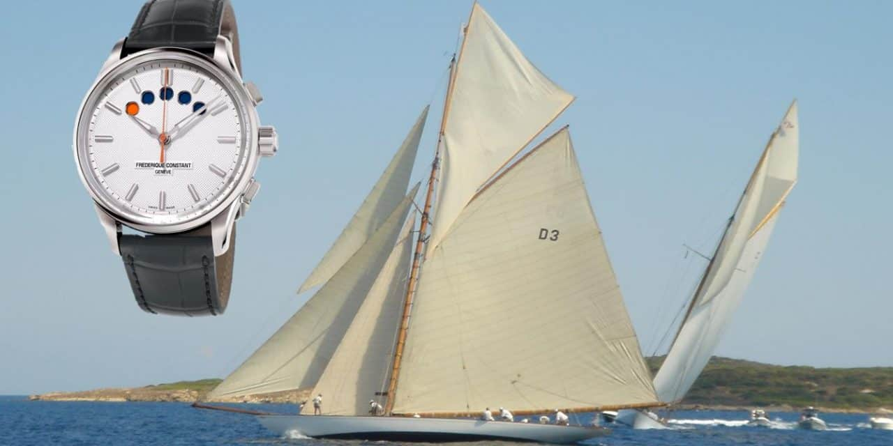 Frédérique Constant Yacht Timer Regatta: Leinen los und Countdown!