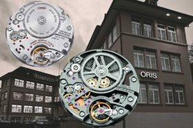 Die Oris Big Crown ProPilot X Calibre 115 kommt skelettiert