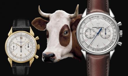Die gehörnte Vacheron Constantin Historiques Cornes de Vache