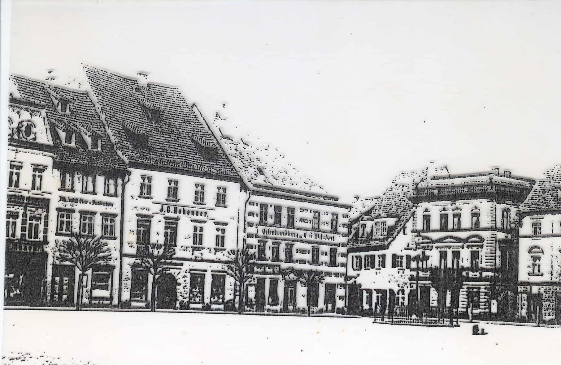 Wilsdorf Eisenwarenhandlung in Kulmbach, hier wurde er auch zum Vollwaisen, ging in die Lehre und wanderte dann in die Schweiz aus