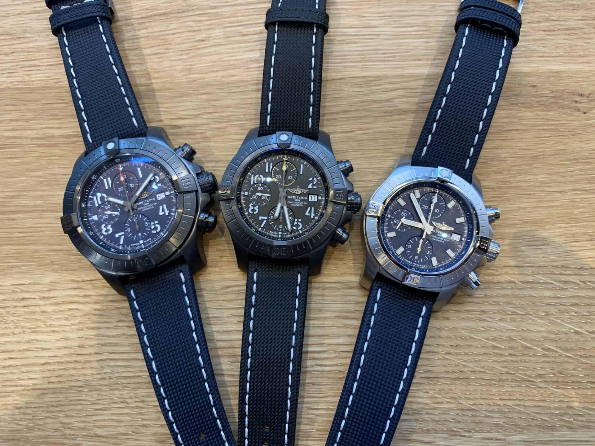 Breitling Avenger Chronograph 48 45 43 Foto GLB
