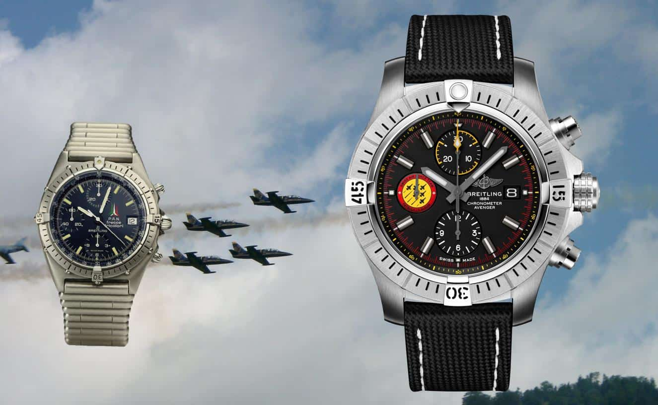 Breitling Frecce Tricolor Chronograph 1983 Avenger Swiss Air Force Team Limited Edition 2019