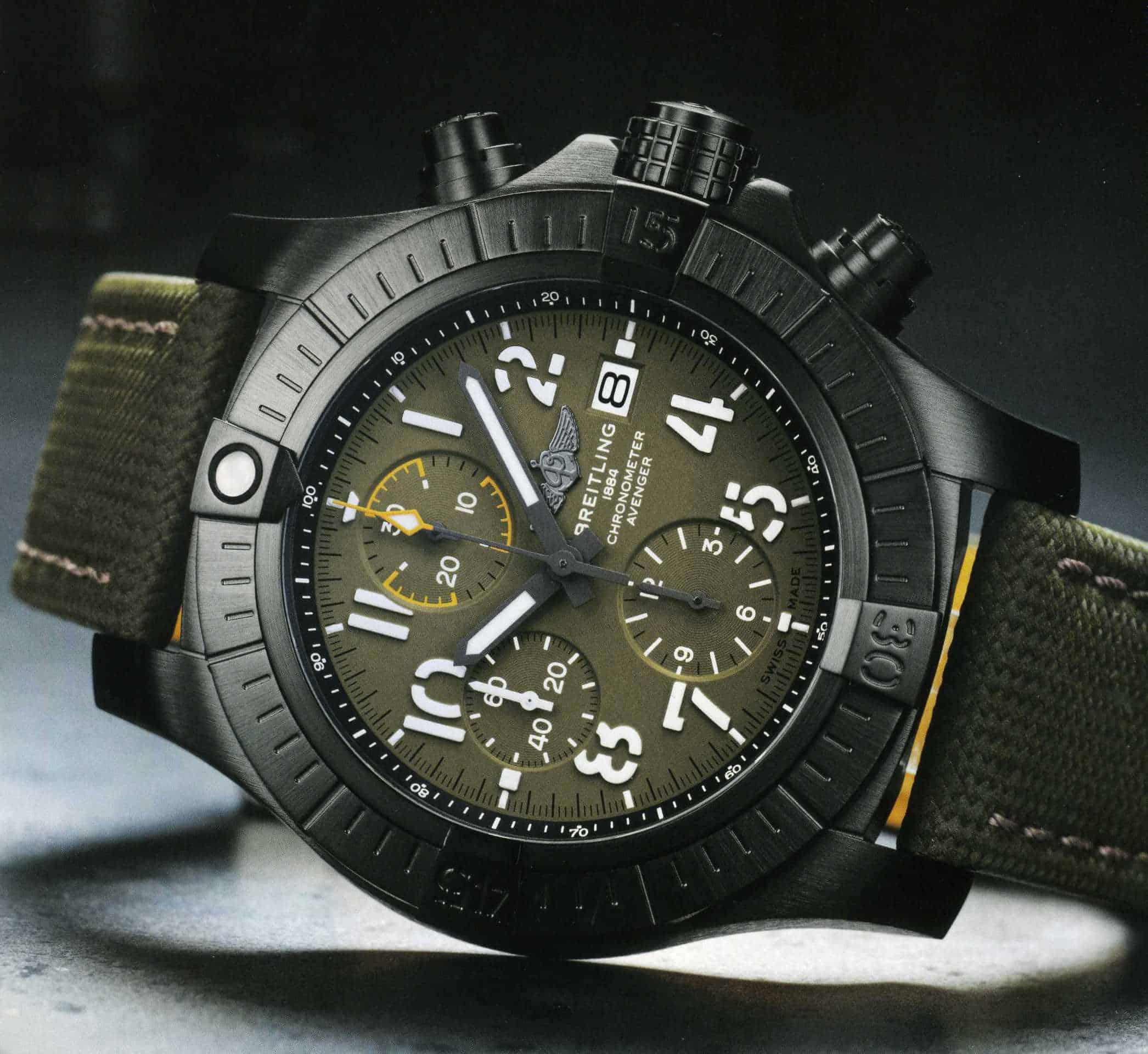 Breitling Super Avenger Chronograph 45 Titan
