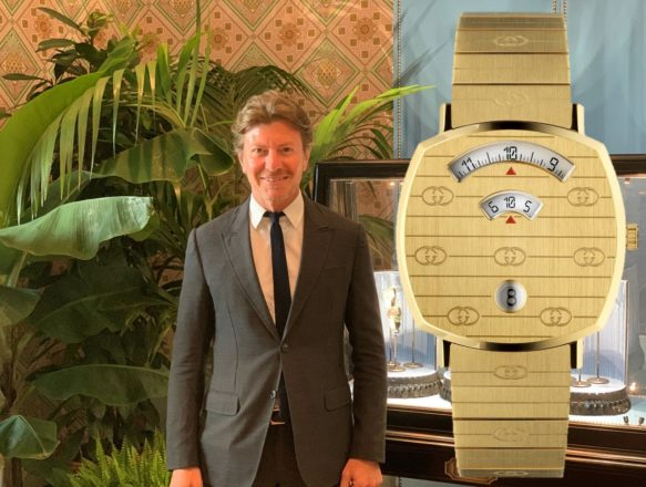 CEO Piero Braga über die neuen Gucci Uhren und seine Strategie für die Zukunft