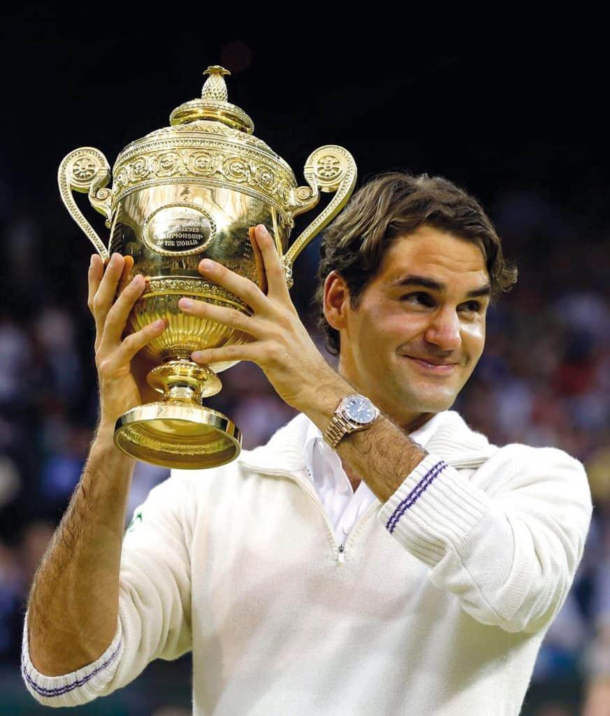 Rolex Partner Roger Federer Wimbledon 2012