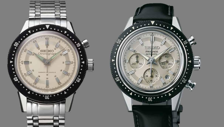 Seiko Crown Chronograph 1964 vs Presage Chronograph 2019