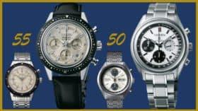 Zwei Jubiläums-Chronographen von Seiko