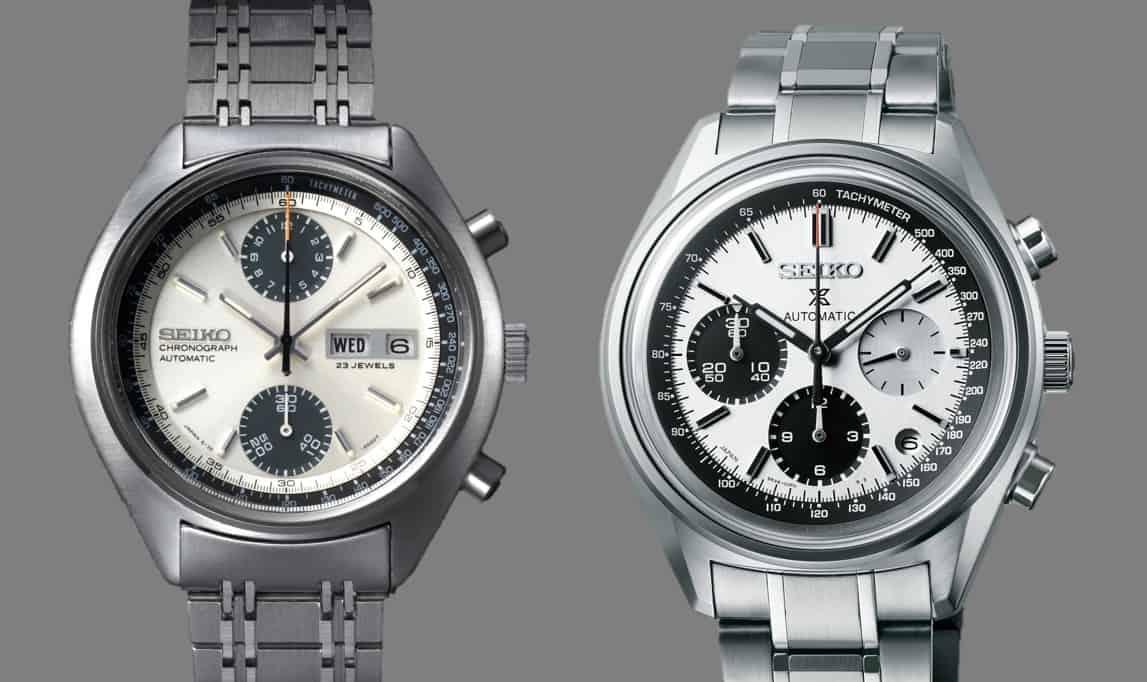 Seiko Panda Chronograph 1969 vs Prospex Chronograph 2019