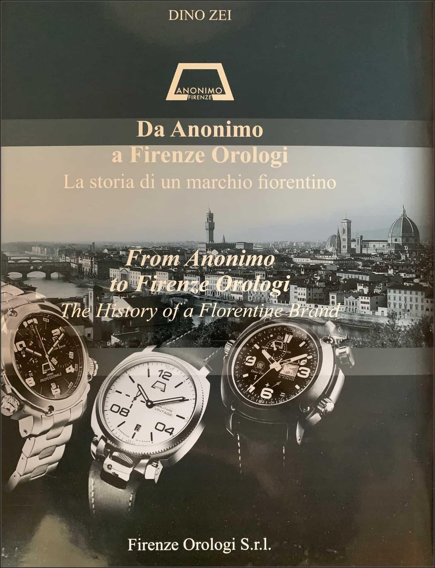 Ein schönes Buch über Florenz und seine Uhren wie Uhrenmarken