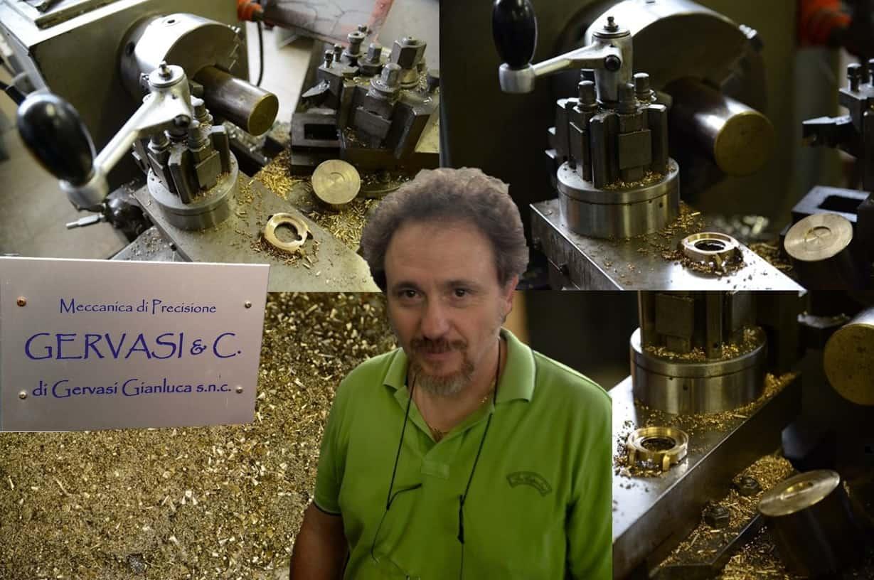 Der Spezialist Gianluca Gervasi nahe Florenz produzierte Gehäuse für Panerai