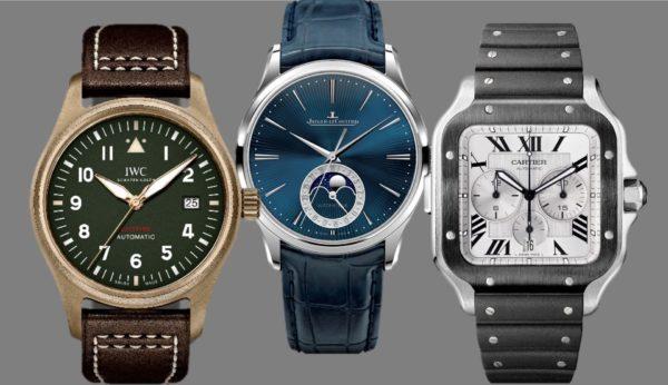 Cartier, IWC, Jaeger-LeCoultre – drei glorreiche Marken mit Garantie!