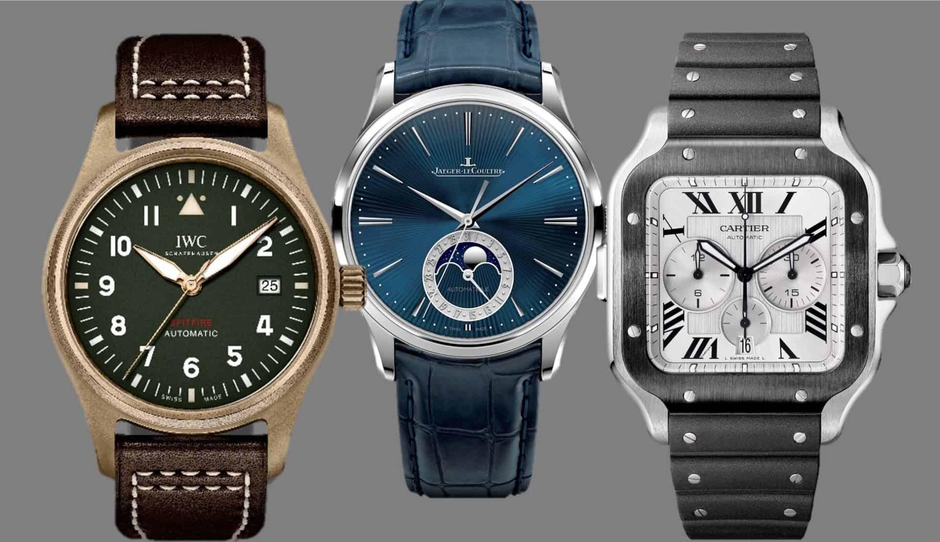 Jaeger-Lecoultre, IWC und Cartier bieten nun 8 Jahre Garantie