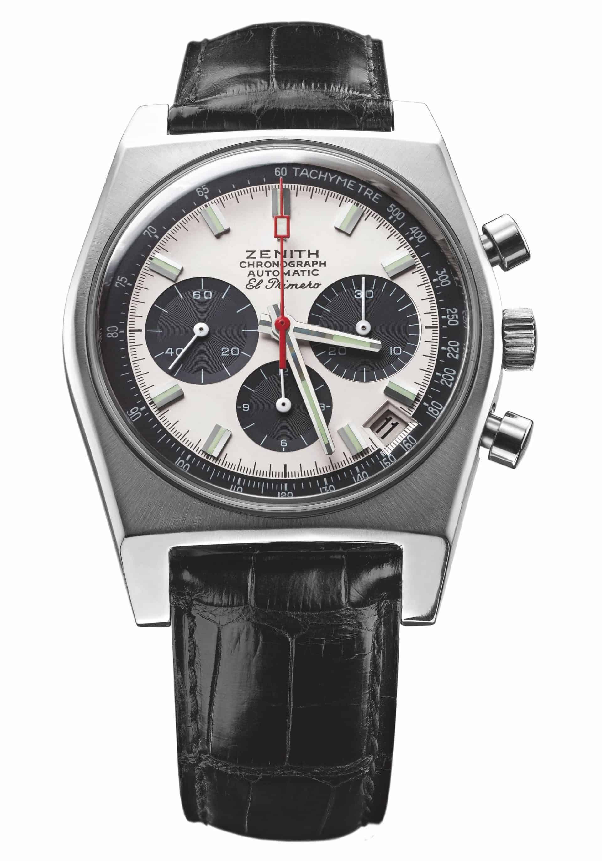 Auch wenn es der Zenith El Primero Chronograph nicht ans Handgelenk von James Bond schaffte. Diese Uhr war und ist filmreif.