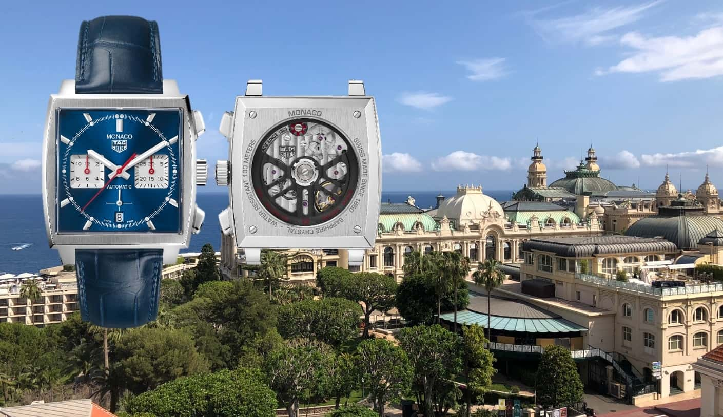 TAG Heuer Monaco und das hauseigene Chronographen-Kaliber Heuer 02