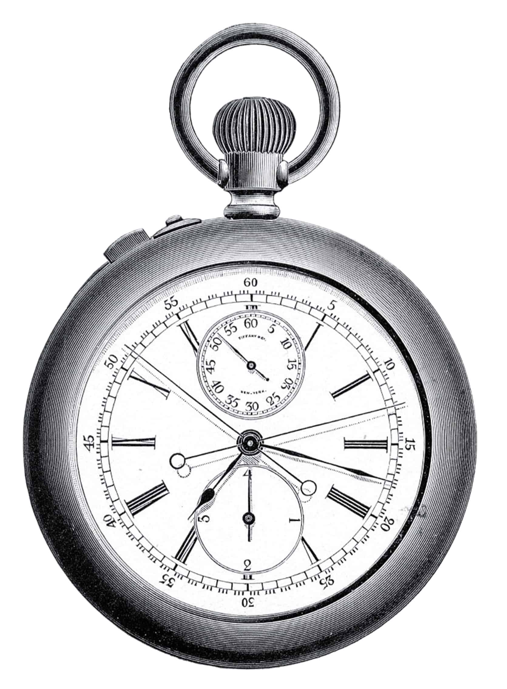 In 1868 Tiffany introduced the Tiffany Timer Americas first stopwatch