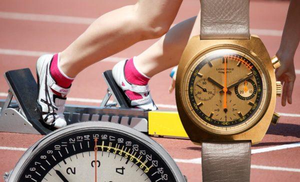 1964 lancierte Longines den Nonius Chronographen mit Fünftel-Sekunden Anzeige