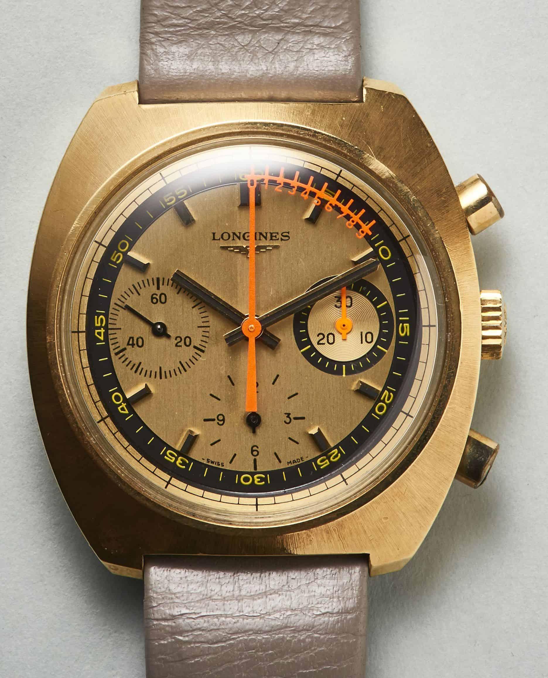 Ein Liebhaberstück - der Longines Nonius Chronograph in Gold Referenz 8273