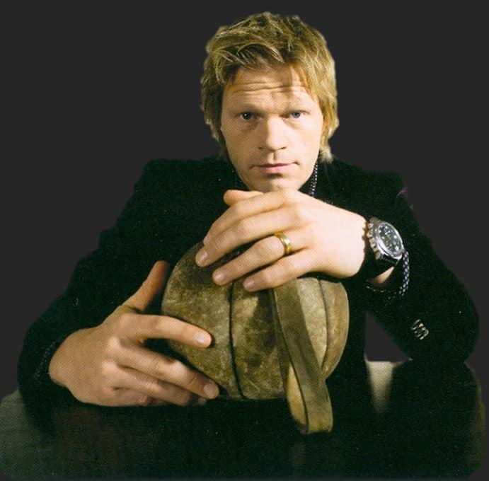 Nationaltorhüter Kahn mit seiner Anonimo Uhr