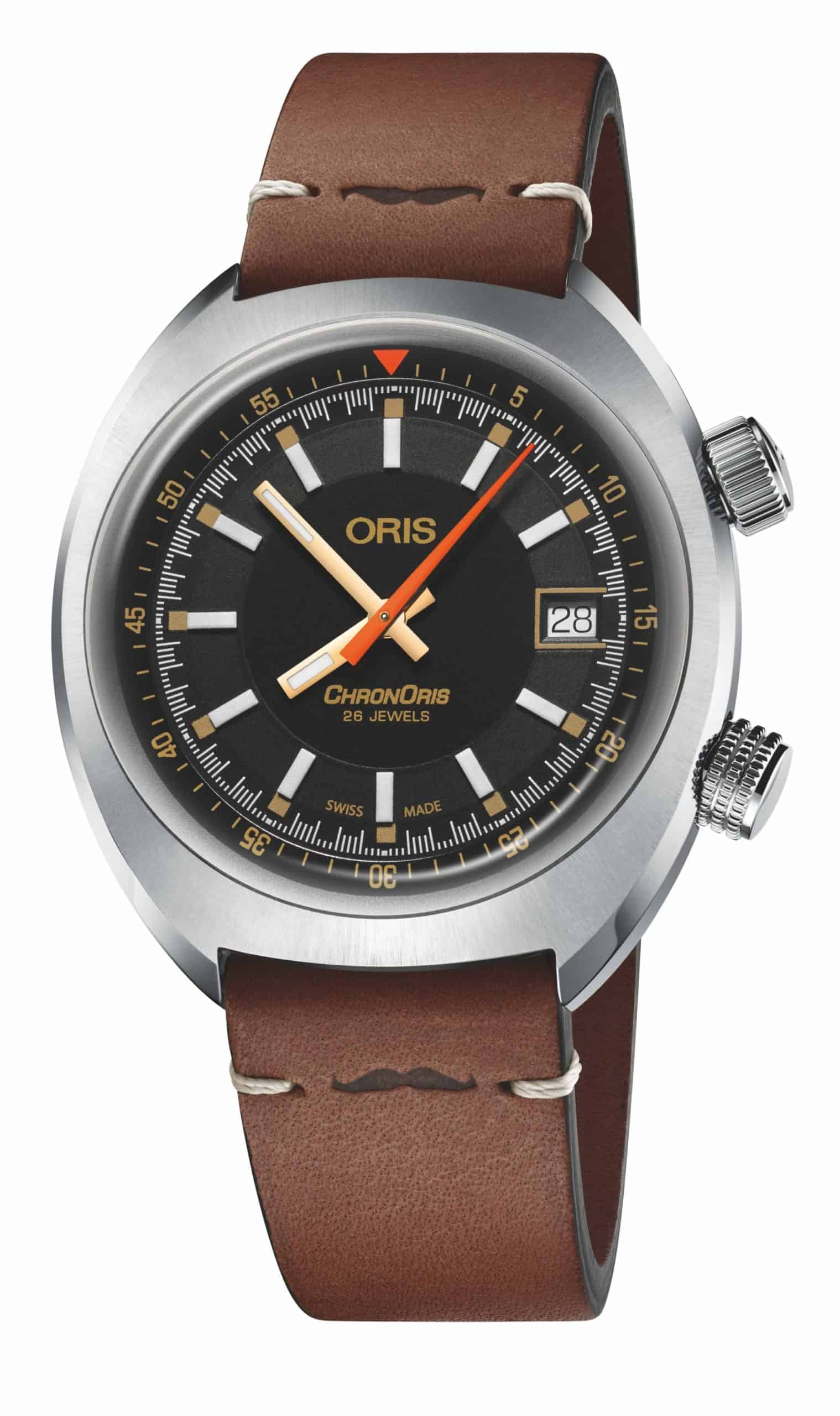 Oris Chronoris Movember Edition 2019 01 733 7737 4034 Lederband scaled